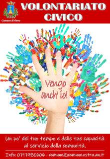 Volontariato Civico a Ostra - locandina