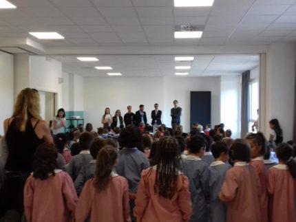 Primo giorno di scuola a Trecastelli per l'A.S. 2019/2020