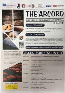 The' Arcord - Incontri informativi sulla demenza - locandina