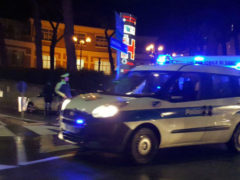 Polizia Municipale rileva l'incidente in via Po a Senigallia