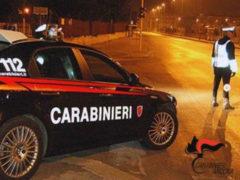 Controlli carabinieri nella notte