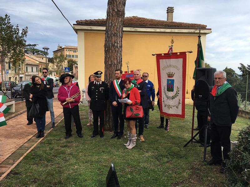 Celebrazioni per il 4 Novembre a Monterado di Trecastelli