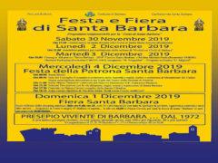 Festa Santa Barbara 2019