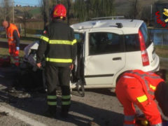 Incidente stradale a Ostra Vetere