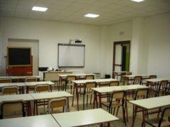 Scuola, aula scolastica