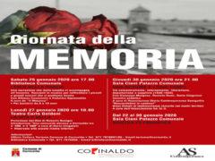 Giorno della Memoria 2020 a Corinaldo