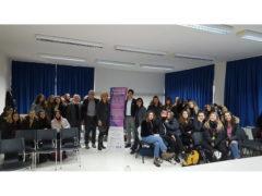 Consegna del secondo totem del Rotaract Senigallia al Liceo Perticari