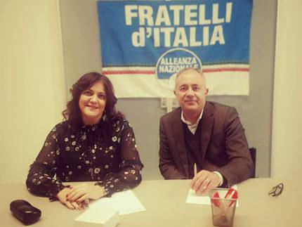 Sandra Amato e Nicola Peverelli - Fratelli d'Italia