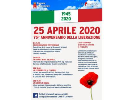 Corinaldo celebra il 75° anniversario della Liberazione