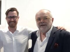 Marco Sebastianelli e Giuliano De Minicis