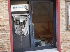 Bancomat fatto esplodere a Ostra