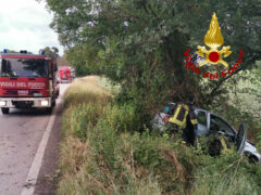 Incidente stradale a Corinaldo