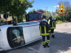 Incidente stradale a Ostra