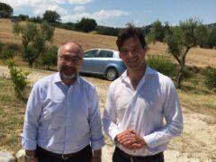 Massimo Bello e Francesco Acquaroli