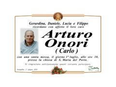 Arturo Onori (Carlo)