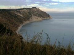 Spiaggia, mare Adriatico, Portonovo, Mezavalle