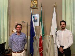 trecastelli: Sindaco Sebastianelli e Assessore Pellegrini