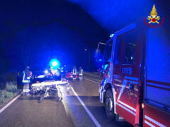 Incidente stradale a Brugnetto