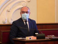 Massimo Bello in Consiglio Comunale a Senigallia