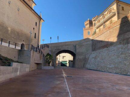 Largo S. Giovanni Paolo II a Trecastelli