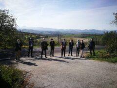 Il sindaco di Senigallia Massimo Olivetti ha fatto visita alla discarica di Corinaldo