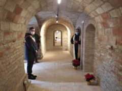 Apertura locali parrocchiali restaurati a Ripe di Trecastelli