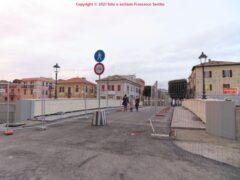 Aperto il nuovo ponte sul Misa in centro a Senigallia