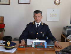 Il capitano Licari del Commissariato di P.S. di Senigallia