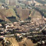 Serra de' Conti : veduta aerea