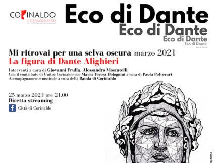 A 700 anni dalla nascita Corinaldo celebra Dante Alighieri - incontro 25 marzo