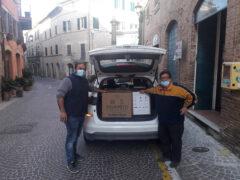 Coldiretti dona pacchi alimentari all'Associazione Onlus il Salvagente