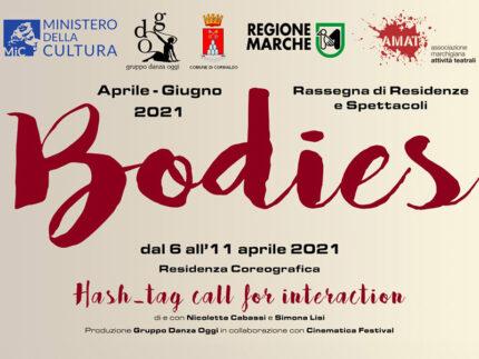 """Residena coreografica """"Bodies"""" al Teatro Goldoni"""