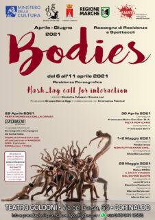 """Manifesto spettacolo """"Bodies"""""""