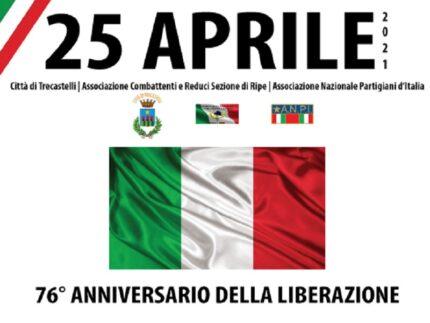 Celebrazioni per il 25 aprile a Trecastelli