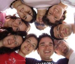 Giovani studenti