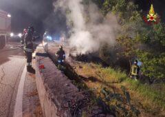 Incendio ad Arcevia