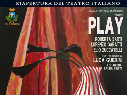 """Volantino spettacolo """"Play"""""""