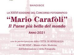 Locandina concorso fotografico Carafoli 2021