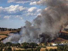 Incendio nella valmisa FOTO diRolf Schertenleib,