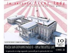 """Volantino spettacolo """"Seconda First Lady"""""""