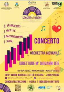 Locandina concerto Orchestra Giovanile