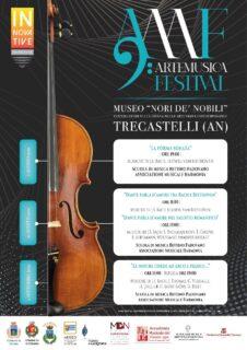 Festival Arte e Musica - Trecastelli - locandina