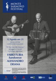 """Montesaxnovo Festival, concerto """"El Dia Que Me Quieras"""""""