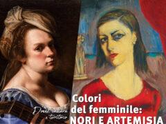 """""""Colori del femminile: Nori e Artemisia"""""""