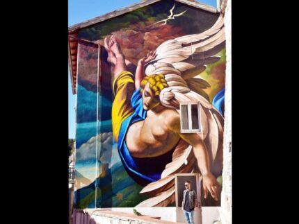 Federico Zenobi - Murales per Bruno d'Arcevia