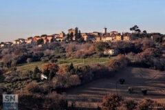 Le colline di Scapezzano di Senigallia - Colori d'inverno - Foto di Mauro Gasparini