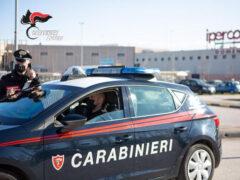 Carabinieri al Centro Commerciale Il Maestrale
