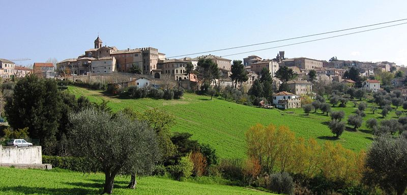 Paesaggio Ostra