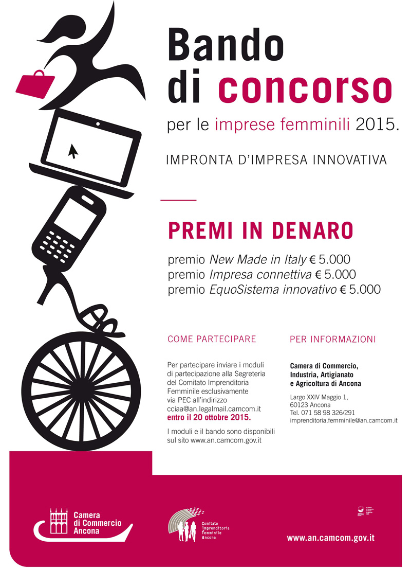 """Locandina del concorso """"Impronta d'Impresa Innovativa"""""""