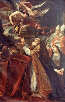 Pontefice con Sacro Collegio, Francois Perrier